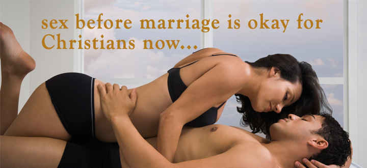 Christians having sex before marriage